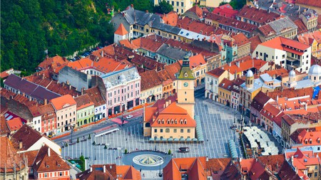 Brasov's Old Town is one of the prettiest destinations in Romania