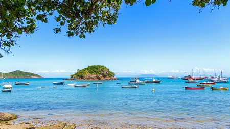 Although close to central Rio, Buzios retains the charm of a tranquil fishing village