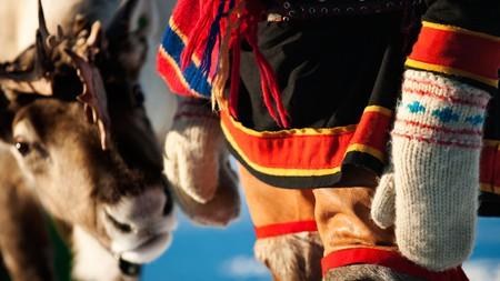 Reindeer herding is one of the oldest traditional livelihoods of the Sámi people