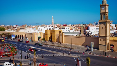 A trip to the Old Medina in Casablanca offers the chance to marvel at the historic city walls