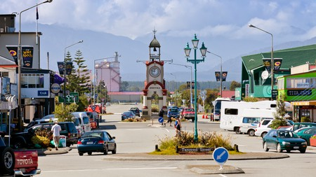 Hokitika is a well-connected base from which to explore the west coast of the South Island