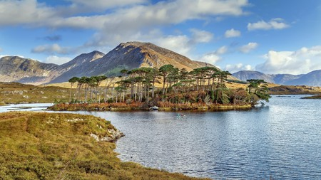 Connemara National Park is a gorgeous area to explore on foot or kayak