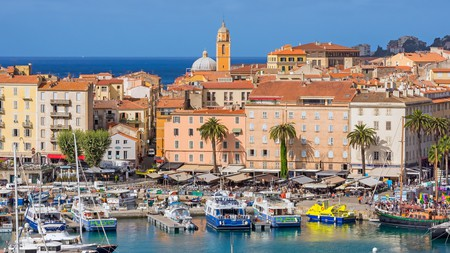 Corsica is home to stunning Mediterranean views and beautiful, historic architecture