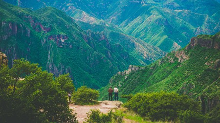 Copper Canyon in the Sierra Madre Occidental is seven times the size of the Grand Canyon