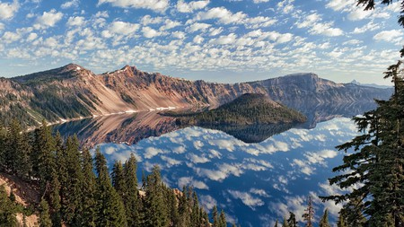 Crater Lake National Park, Oregon, offers some of the best scenery in the Pacific Northwest