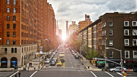 Head to the High Line for a fantastic city view over Chelsea in Manhattan
