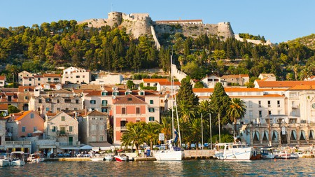 Hvar is one of Croatia's most popular tourist towns on the stunning Dalmatian coast