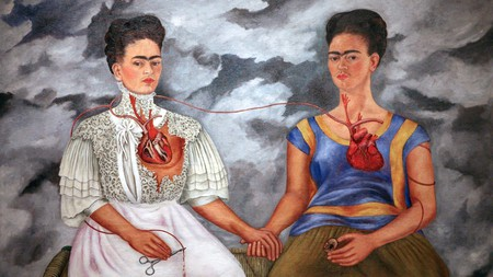 'The Two Fridas' (1939) was Kahlo's largest painting, and one of her best known