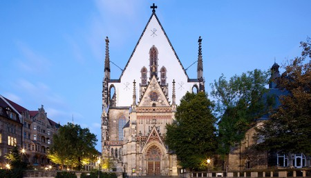 St Thomas Church is one of the most beautiful, historic buildings in Leipzig