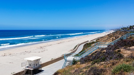 Stay steps from the beach in Carlsbad, California