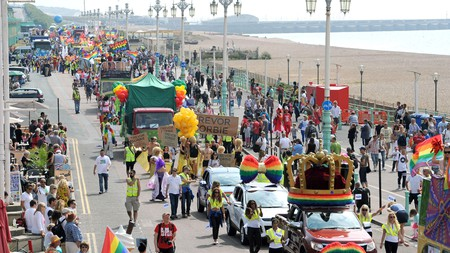Brighton Pride is a landmark annual event attracting attendees from across the planet