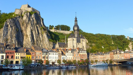 Sitting on the Meuse River, Dinant is one of the most picturesque towns in Belgium