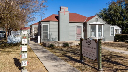 The George W Bush Childhood Home is now a museum