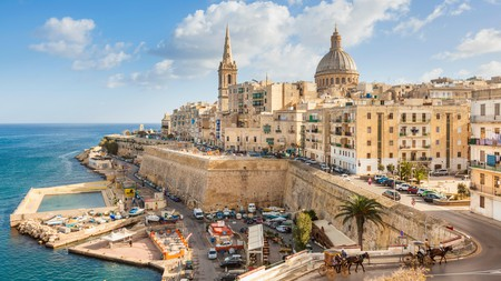 The Valletta skyline is your first hint that Malta is far more than just a sun and sand getaway
