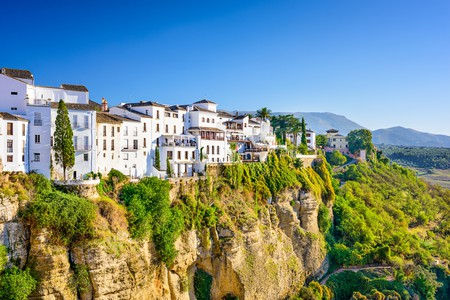 Perched on the edge of the Tajo Gorge, Ronda is one of Spain's more dramatically situated towns