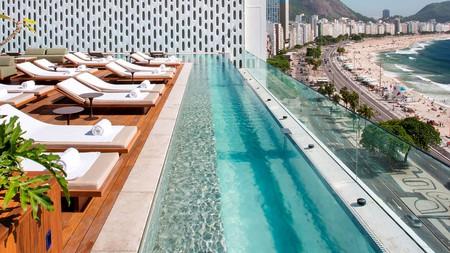 Relax in style with unbeatable ocean views at the Emiliano Rio hotel in Copacabana, Rio de Janeiro