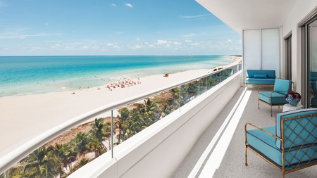 The Faena Hotel enjoys a prime location on Miami Beach, with stunning vistas in every direction