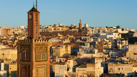 Tangier's medina is home to some of the city's most ornate mosques