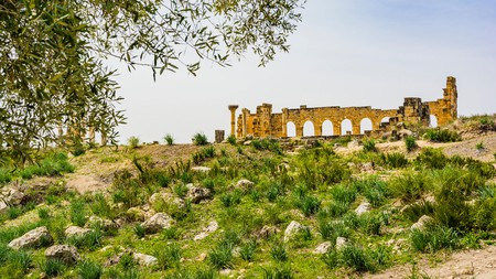 Volubilis is one of the best preserved ancient sites in Morocco
