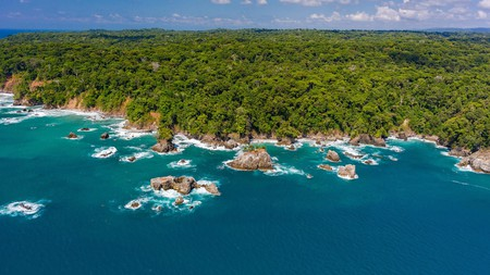 The Corcovado National Park in Costa Rica is beautiful no matter the season