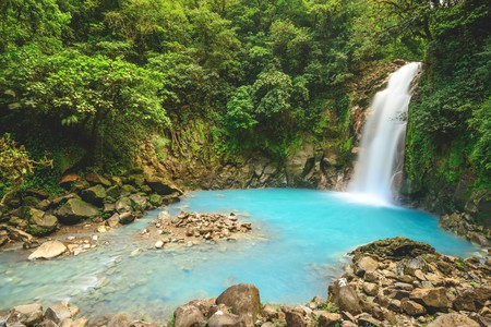 The Rio Celeste will enchant you with its beauty