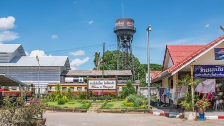 Take a train from Bangkok and you will disembark at Chiang Mai Railway Station