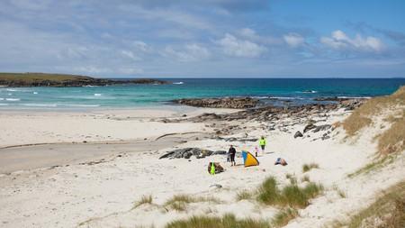 Scotland has peaceful beaches aplenty, including Hosta Beach on North Uist