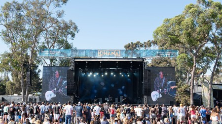 Johnny Marr performs live during Ohana Festival at Doheny State Beach