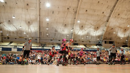 The DC Rollergirls is just one of many quirky things to see in the city