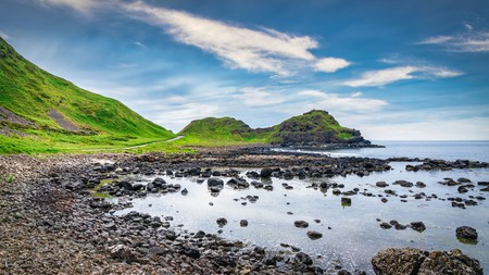The majestic landscape of the Giant's Causeway is one of Ireland's finest natural wonders