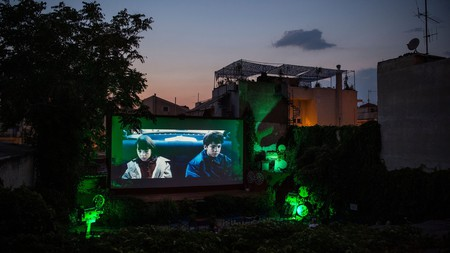 The Greek capital is home to many open-air screens that let you enjoy a film accompanied by a local delicacy