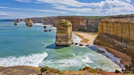 Take in the views from the view points at The Twelve Apostles