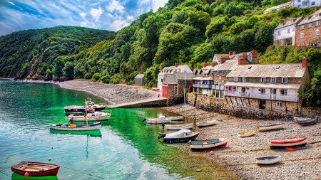 Clovelly in North Devon has been the inspiration for many artists over the years, including JMW Turner