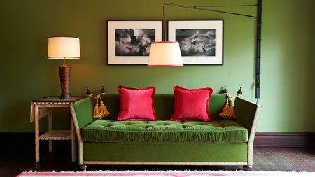 Plush surroundings welcome you in the Gramercy Park Hotel, New York City