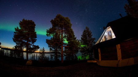 At the Wilderness Hotel in Inari you can even catch a glimpse of the Northern Lights from your igloo's window
