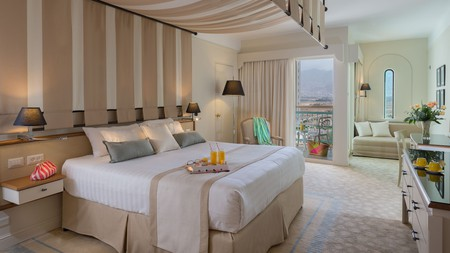 Get thoroughly pampered at the Herods Vitalis Spa Hotel Eilat
