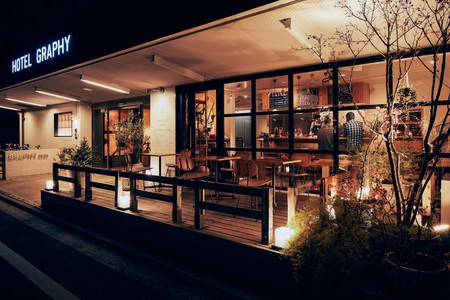 Like many hotels in Ueno, Hotel Graphy Nezu blends hip styling with a spacious layout