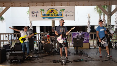 Music by the Sea is a fun summer concert series that draws people to St Augustine