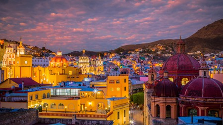 With an embarrassment of beautiful architecture, Guanajuato is one of Mexico's hidden gems