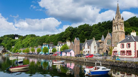 Tobermory, on the Isle of Mull, is a pretty fishing village well worth a visit