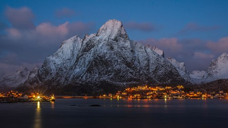 Norway offers some of the world's most dramatic winter scenery