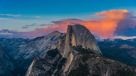 The view of the Half Dome from Glacier Point is unforgettable