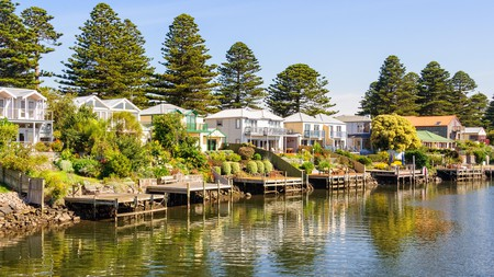 Delightful Port Fairy, Victoria, is home to more than 50 historic buildings protected by the National Trust of Australia