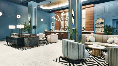 The Kinley Cincinnati Downtown hotel offers enticing environs in the heart of the city