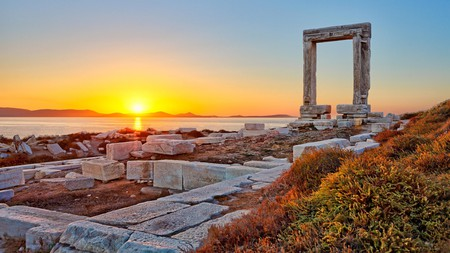 Naxos is the site of one of many mythological tales about the Greek islands