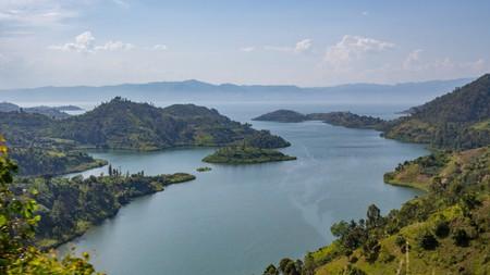 Lake Kivu sits at the heart of Rwanda's booming tourism trade