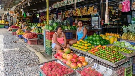 Visit the local markets to get a taste of the exotic fruits and vegetables found in Costa Rica