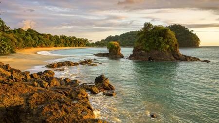 Playa Espadilla in Manuel Antonio National Park is an iconic Costa Rica beach