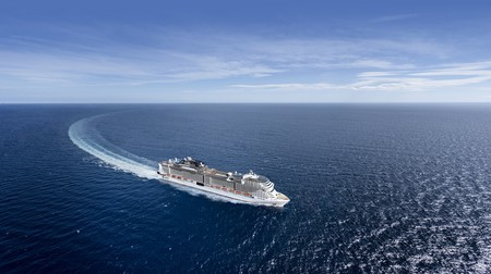 The MSC Virtuosa made the first UK domestic cruise after Covid-19 brought the industry to a standstill