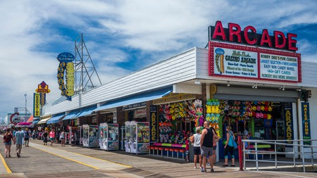 Wildwood Boardwalk on the Jersey Shore offers hours of fun for all the family